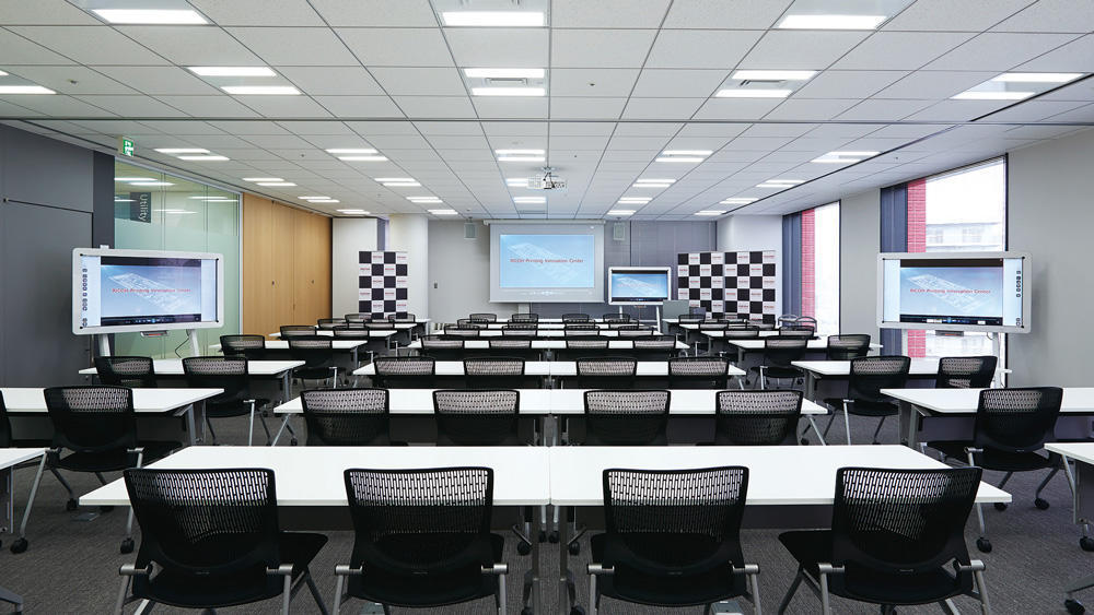 会場のプリンティングイノベーションセンター