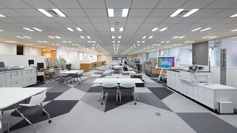 会場のリコープリンティングリノベーションセンター