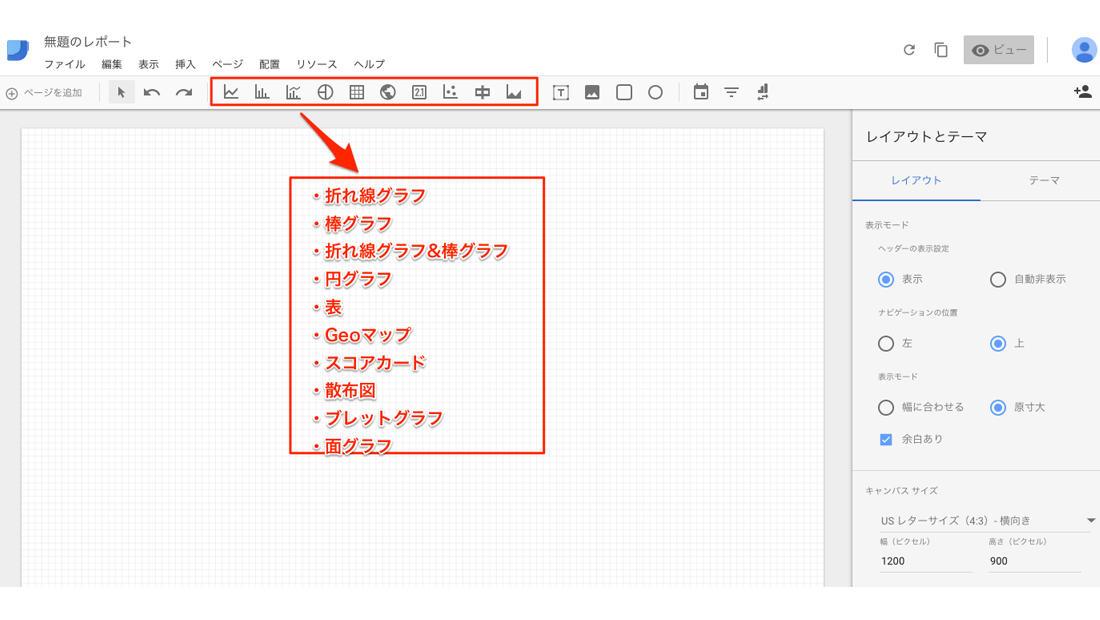Google Data Studioの使い方 データの追加とデザイン
